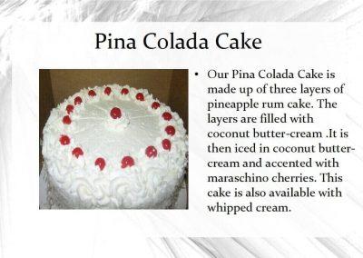 Cakes - Nino's Italian Bakery, Punta Gorda FL