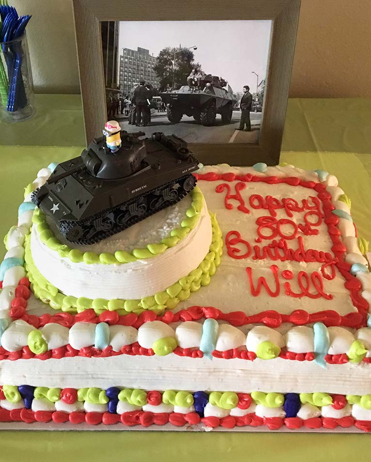 Memorial Day WWII Veteran Cakes , by Ninos Bakery, Punta Gorda, FL