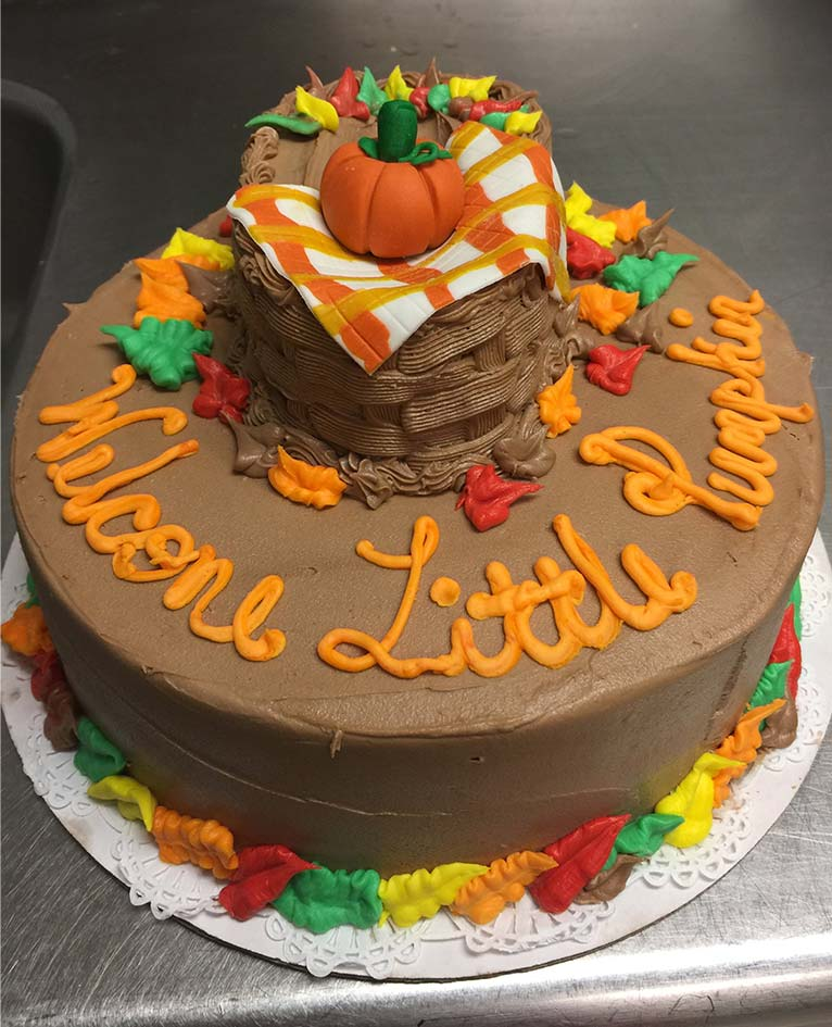 Fall Decoration Cakes , by Ninos Bakery, Punta Gorda, FL