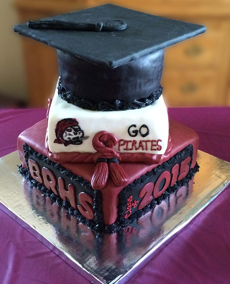 Graduation Cakes, by Ninos Bakery, Punta Gorda, FL