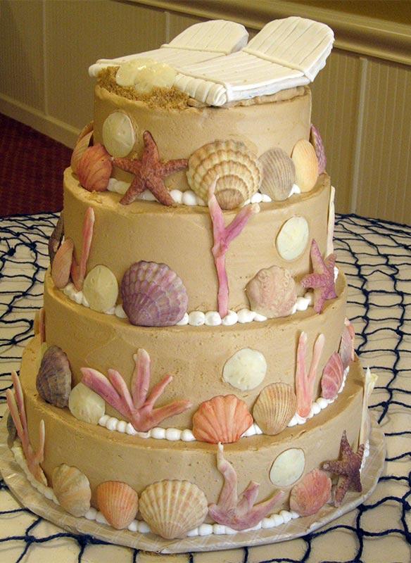 Nino's Bakery Summer-Seashell-Cake