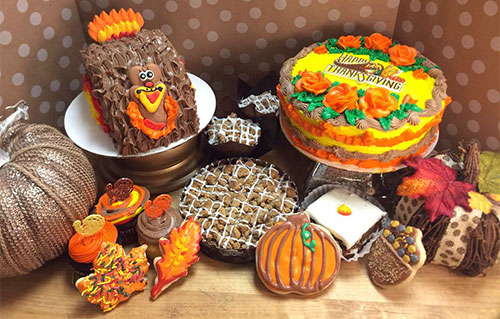 Ninos Bakery, Fall Cakes, Cookies, Pies and more