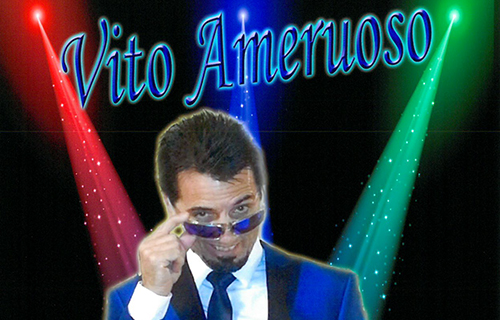 Vito Ameruoso performing Frankie Valli, Motown, Disco at Nino's Oct 25th