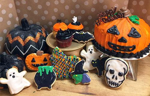 Halloween Cakes, Cookies, Cupcakes at Ninos Bakery