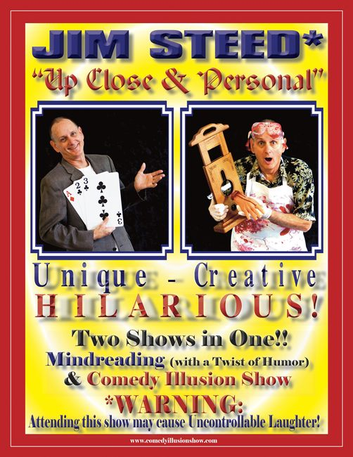 Jim-Steed-Comedy-Illusion-Show-flier