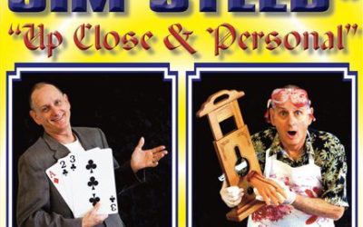 Mar 28: Jim Steed, Comedian-Illusionist at Nino's Bakery