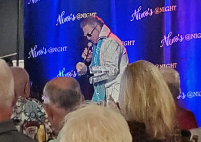 Nino's @NIGHT featuring Jimmy Mazz, Legends & Laughter, as Elvis