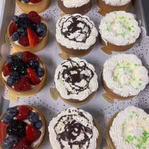 Pastries and Tarts at Nino's Bakery in Punta Gorda, Florida