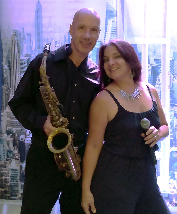 Sax & Soul, Ron Lorenzo & Renee Scott picture