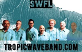 Tropic Wave Band plays Nino's @NIGHT, band logo