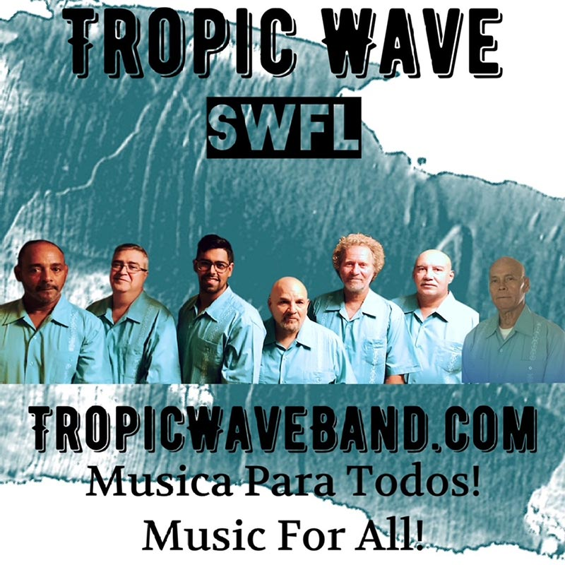 Tropic Wave Band plays Nino's @NIGHT, band logo