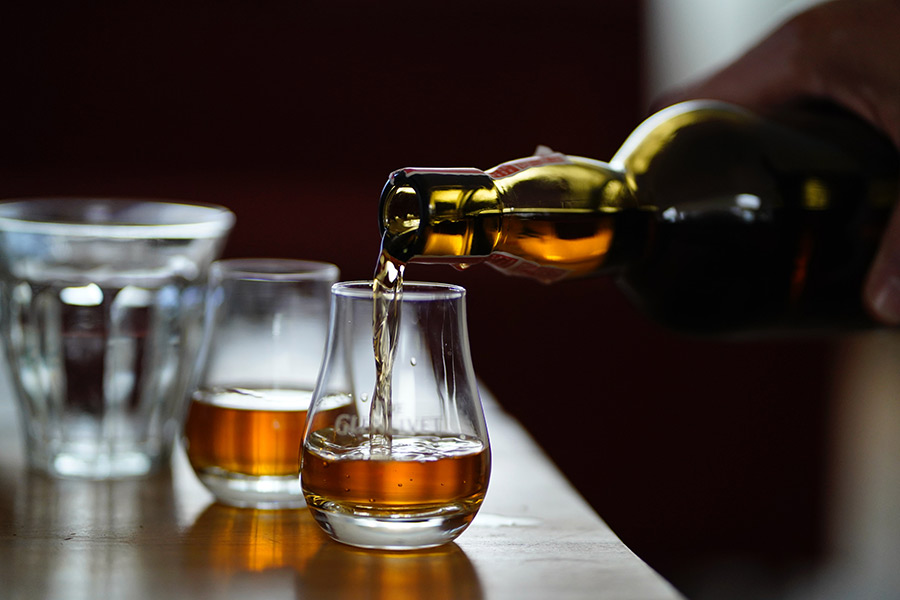 Nino's Grape & Grain Bourbon Tasting Event