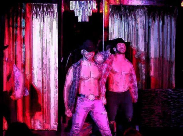 Rock Hard Review dancers