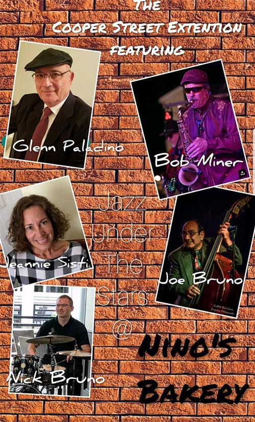 Cooper Street Extension Jazz Ensemble, Jazz Under the Stars with Glenn Paladino, Bob Miner, Jeannie Sisti, Joe Bruno and Nick Bruno