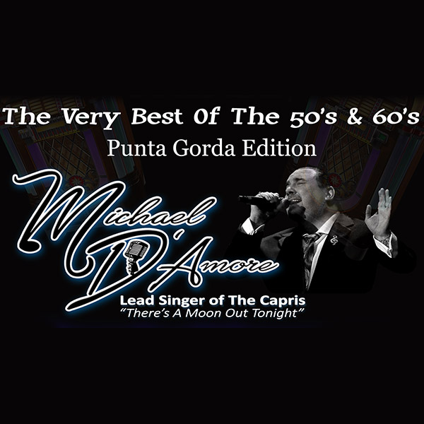 Michael D'Amore, SW FL Sock Hop, Best of 50's & 60's at Nino's