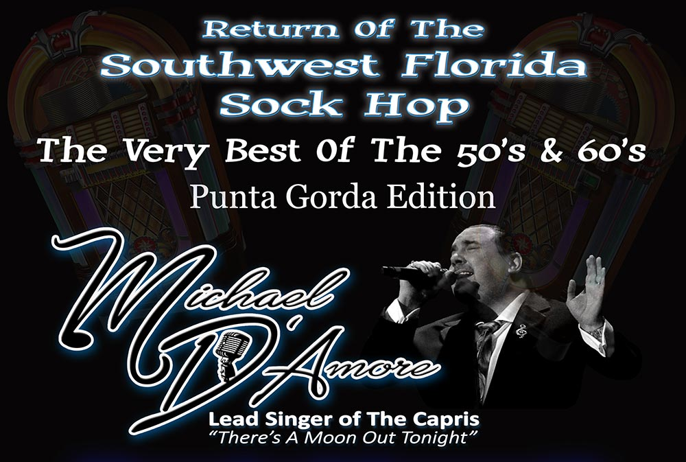 Michael D'Amore, SW FL Sock Hop, Best of 50's & 60's at Nino's