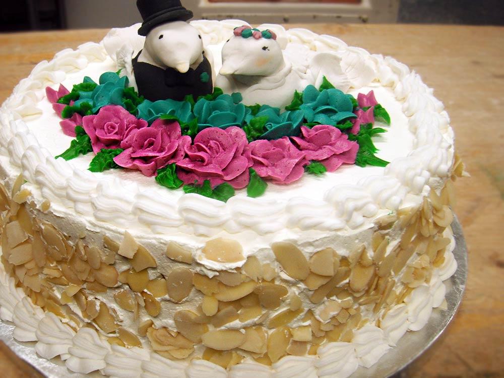 Lovebird Specialty Cake from Nino's Bakery, Punta Gorda Florida