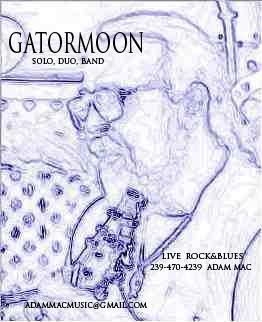 Gatormoon, Adam Mac promo pic