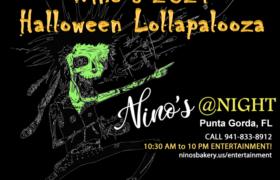 Nino's 2021 Halloween Lollapalooza