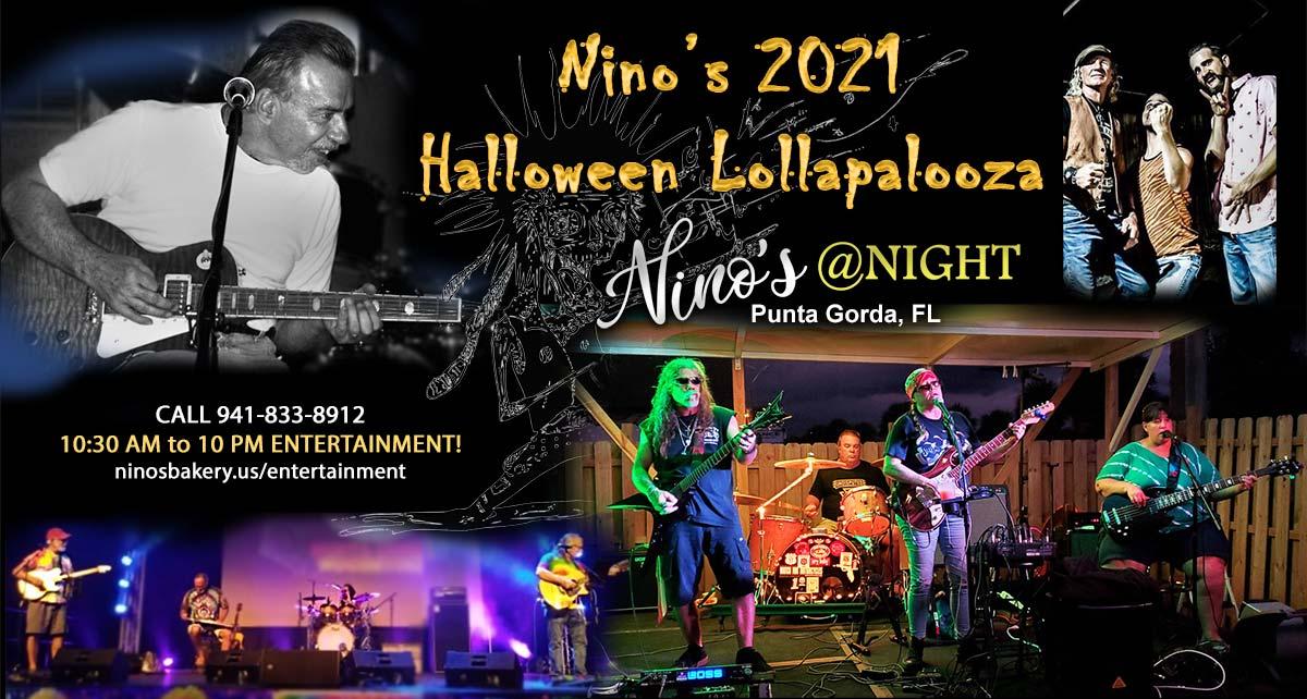 Nino's Halloween Lollapalooza